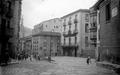 Plaza Nueva de Eibar ayer